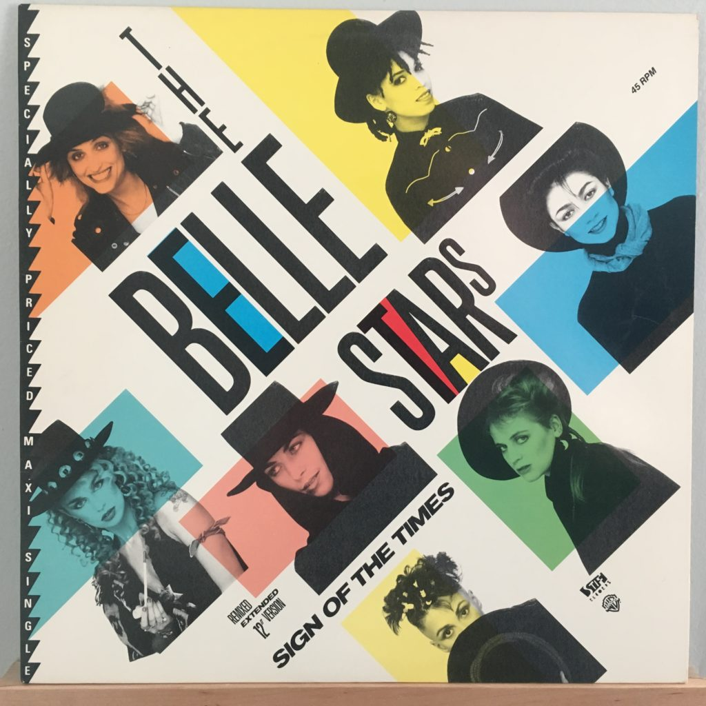 """The Belle Stars -- 12"""" remix of Sign of the Times"""