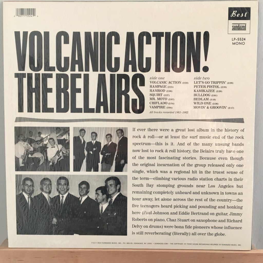 The Belairs back cover