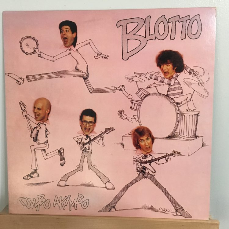 Blotto Combo Akimbo front cover