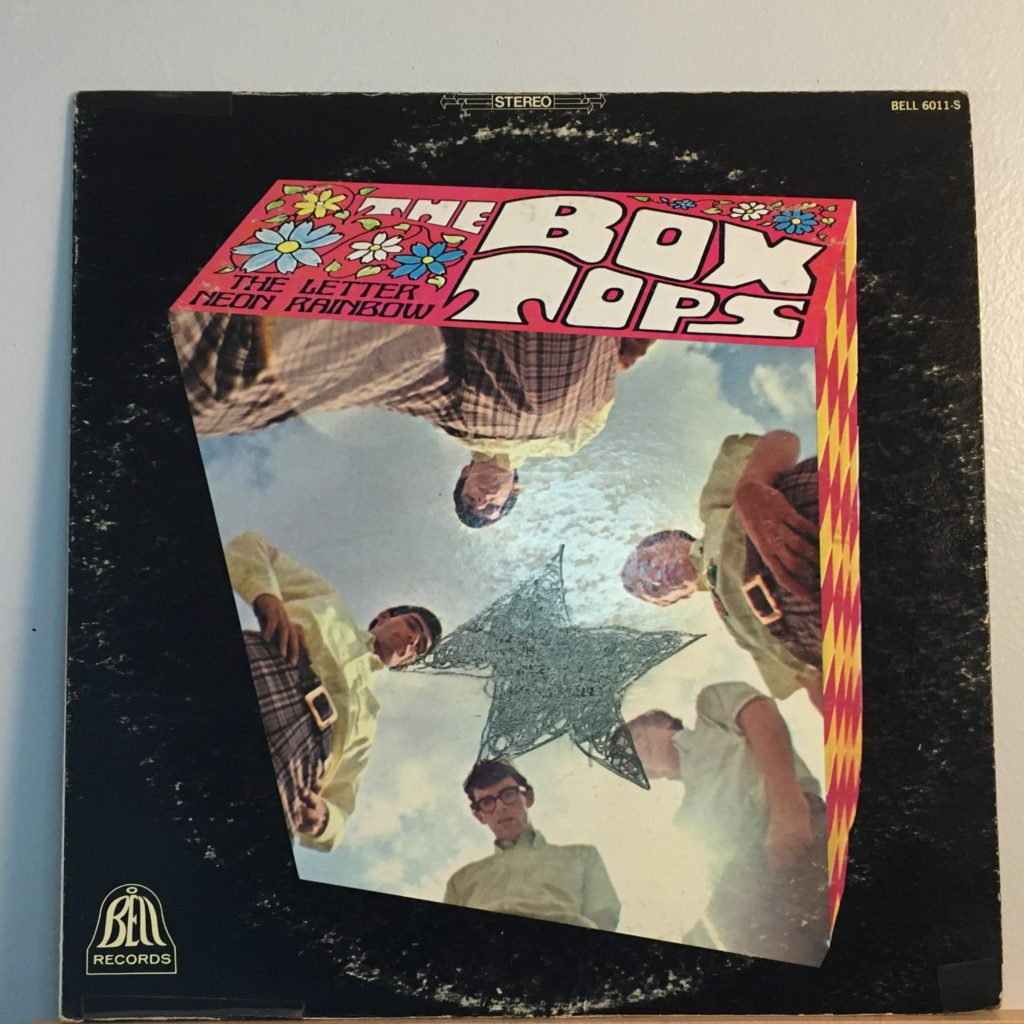 The Box Tops front cover