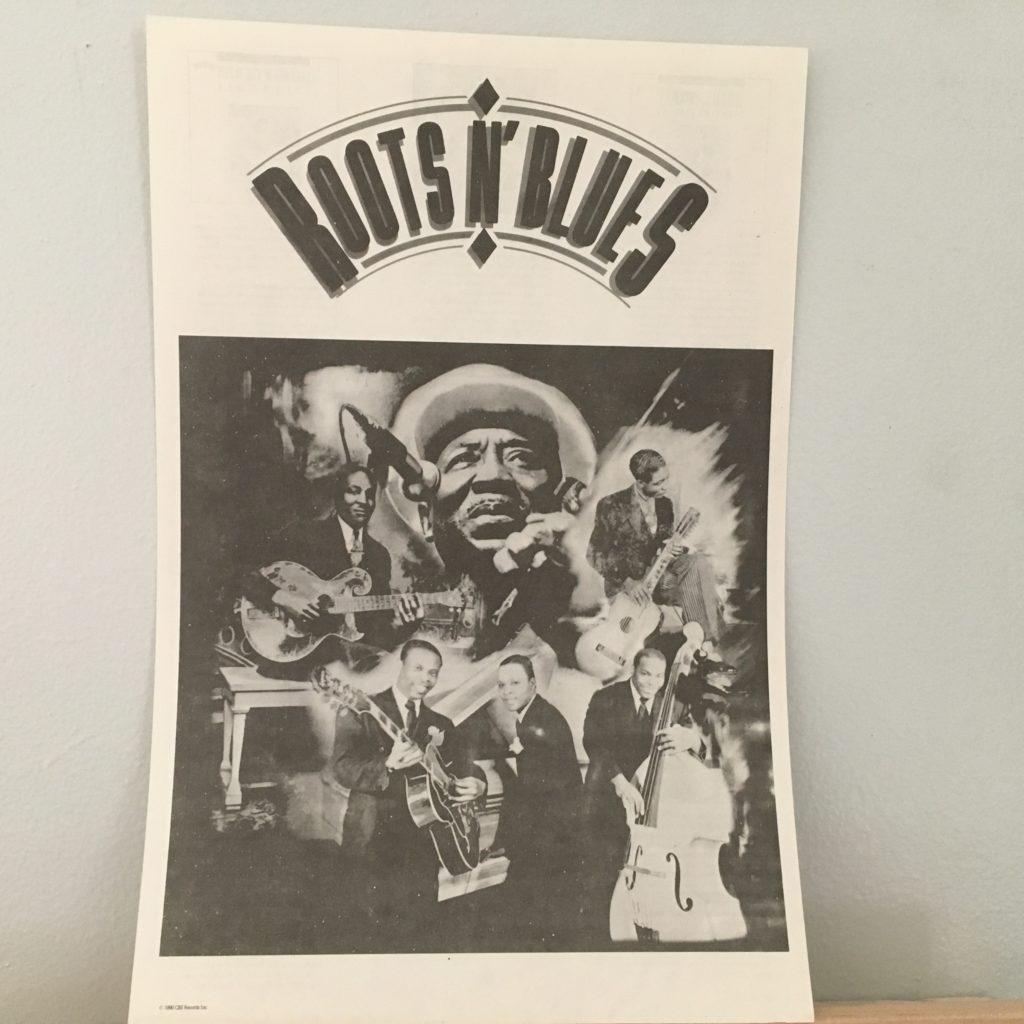 Roots 'n' Blues promo insert sheet