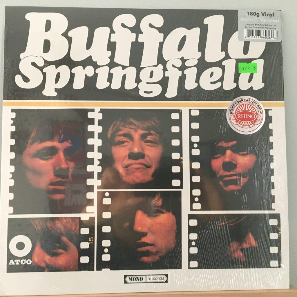 Buffalo Springfield front cover