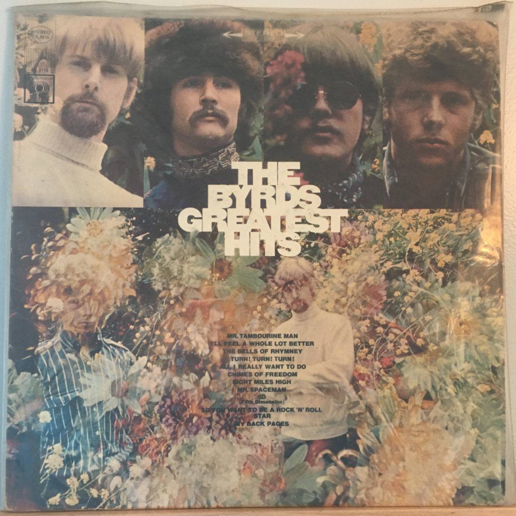 Byrds Greatest Hits front cover