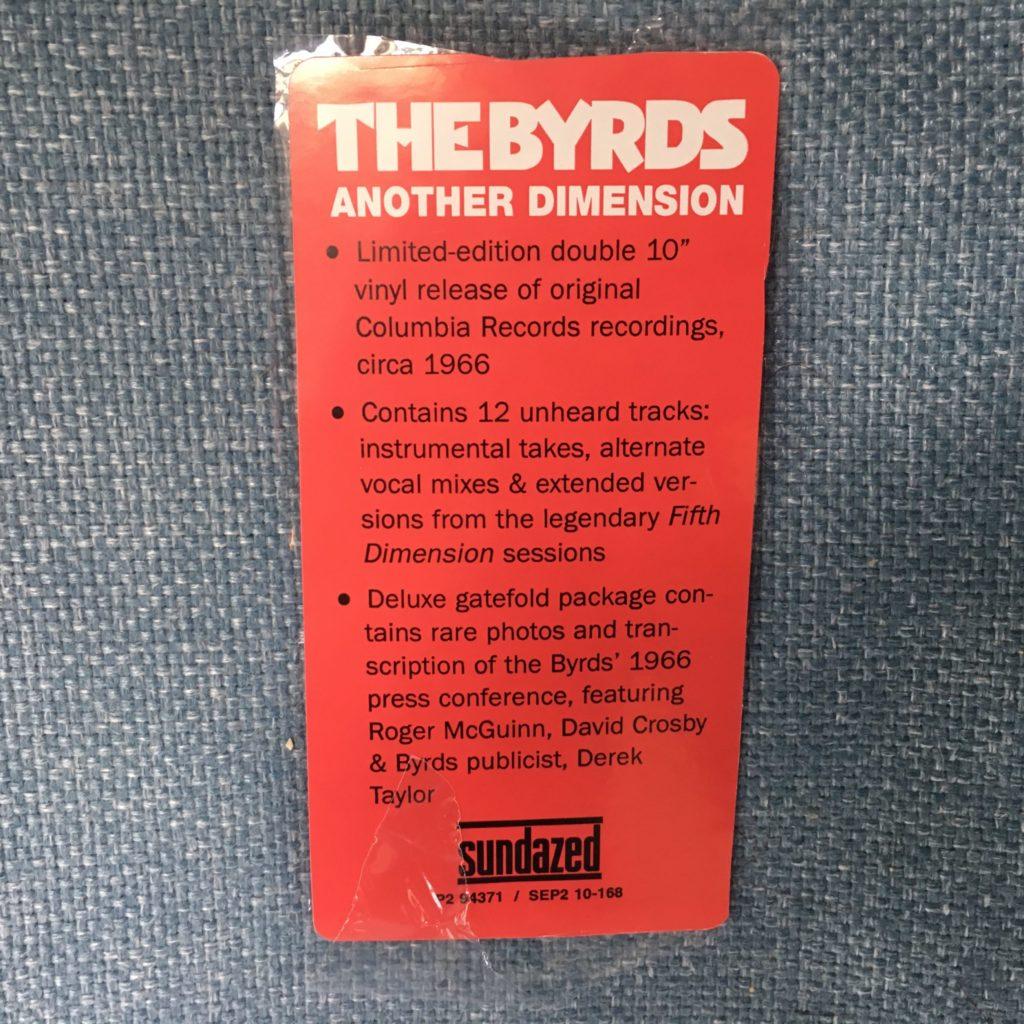 Sundazed Promo Label for Another Dimension