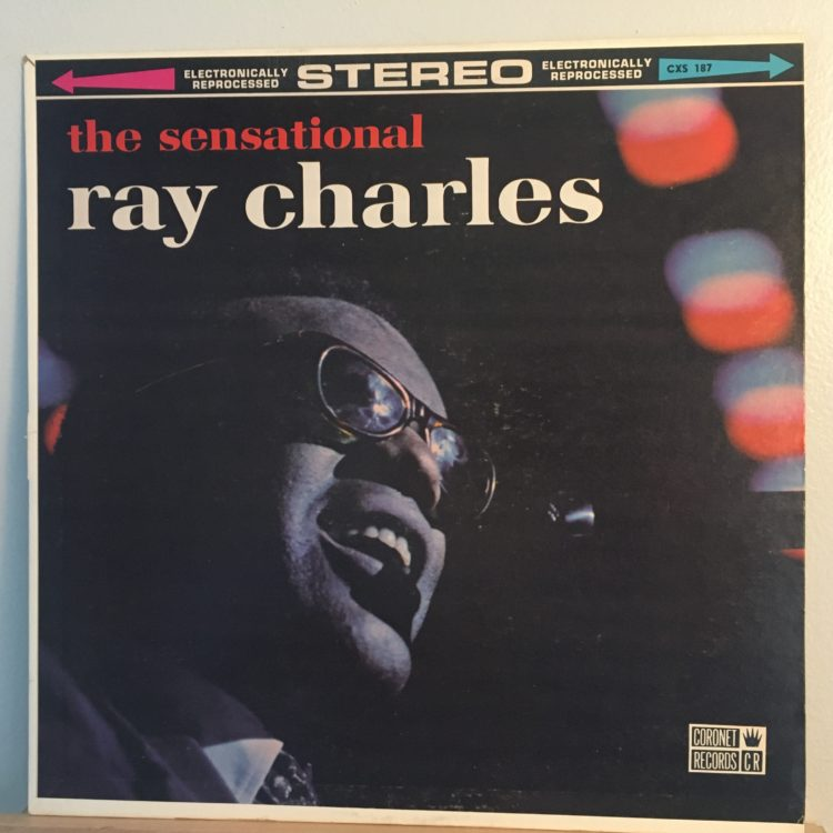 The Sensational Ray Charles front cover