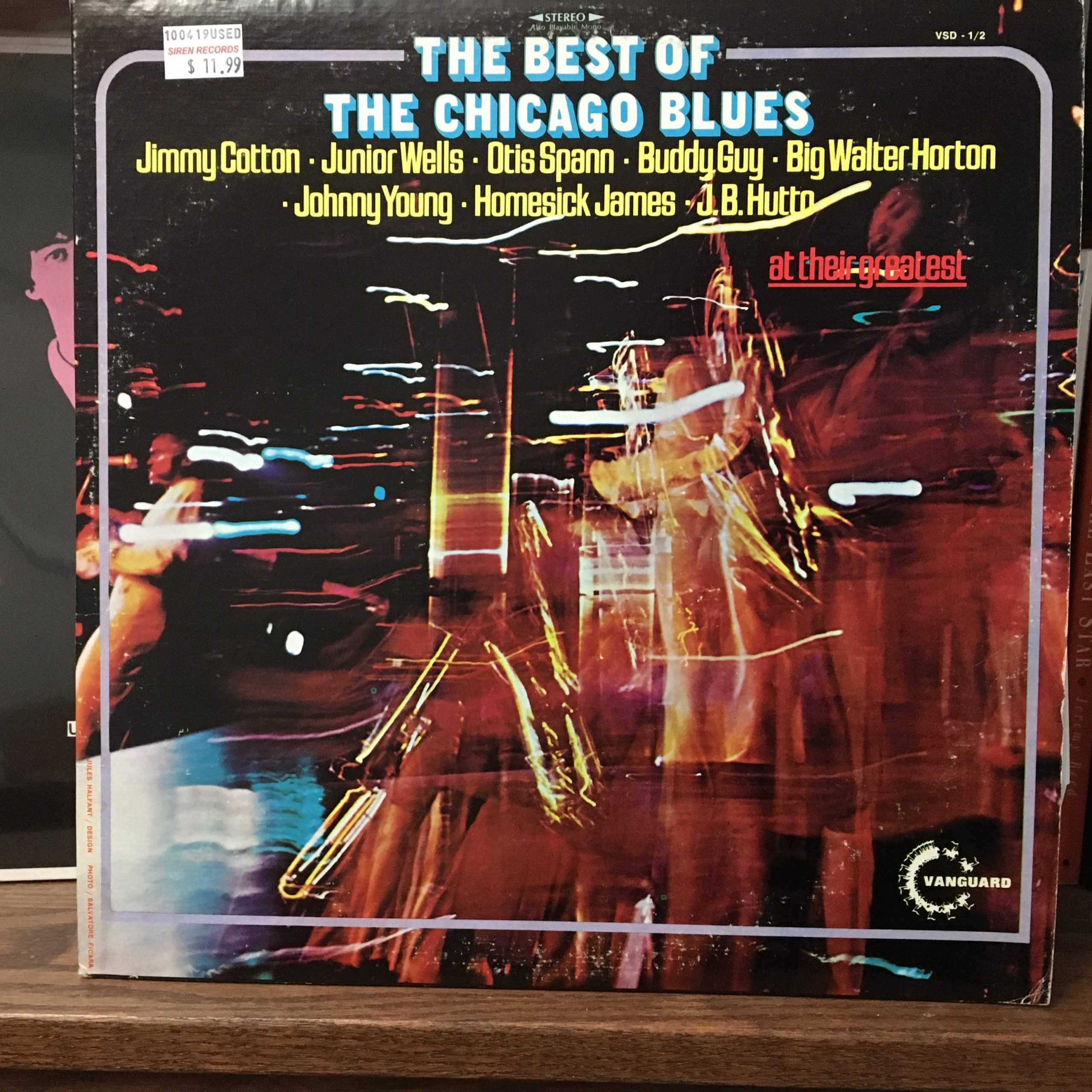 Chicago Blues front cover