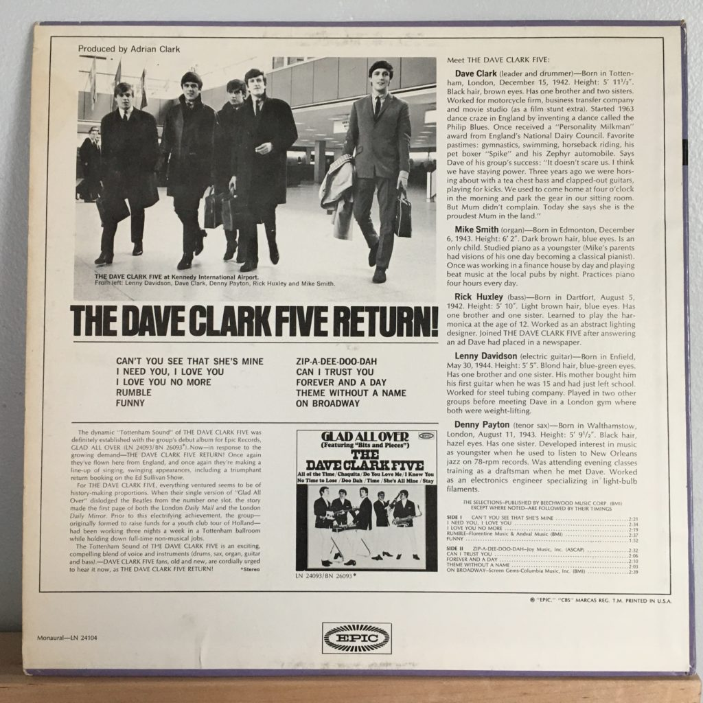 Return! back cover