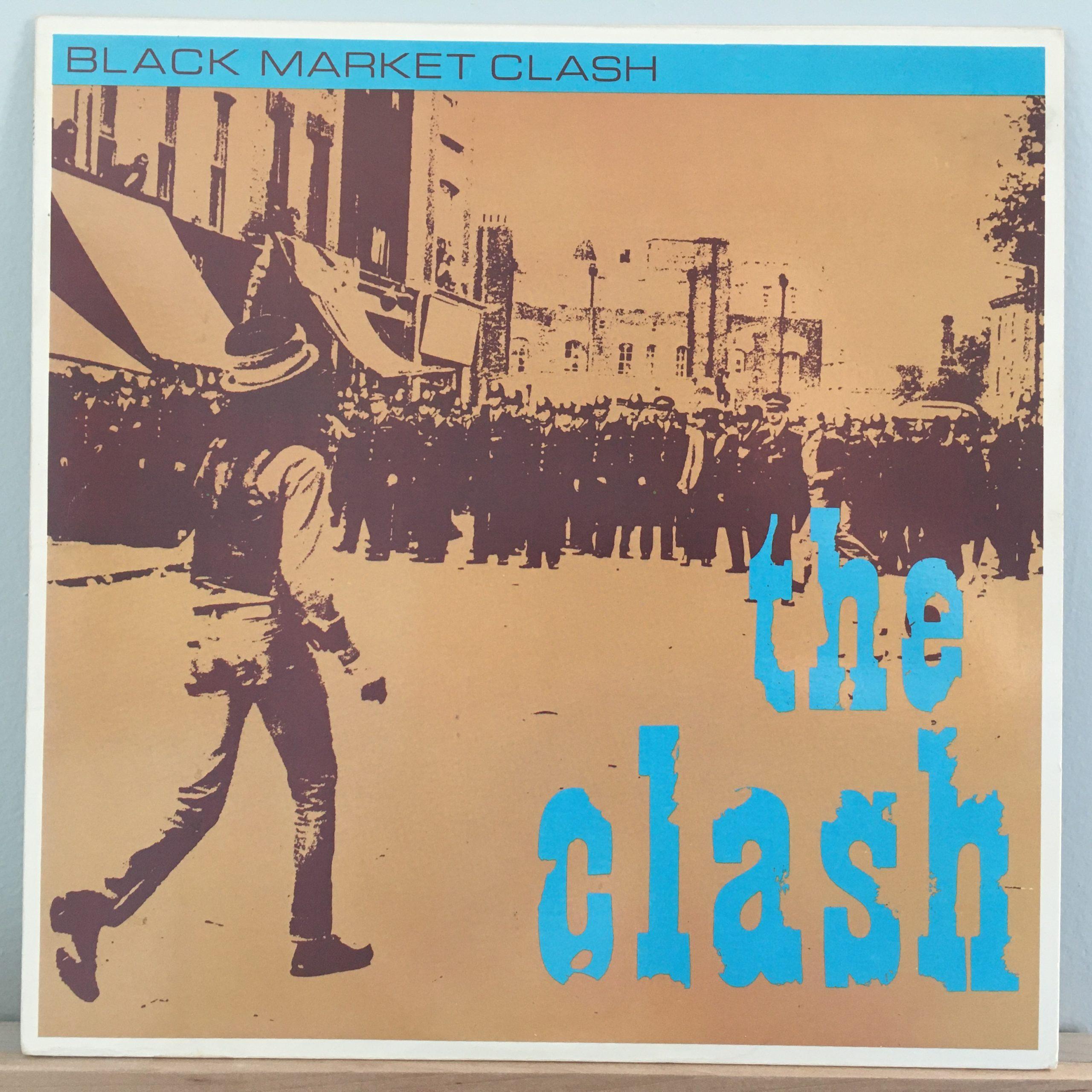 "Black Market Clash front cover 10"""