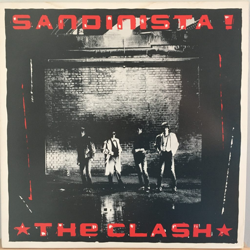 Sandinista front cover