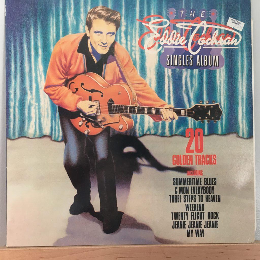 The Eddie Cochran Singles Album