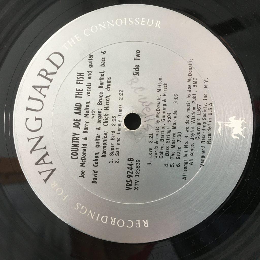 Electric Music label, sans title