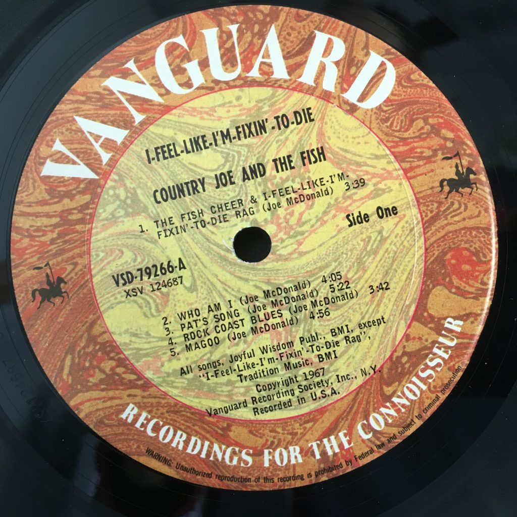 Fixin to Die reissue label
