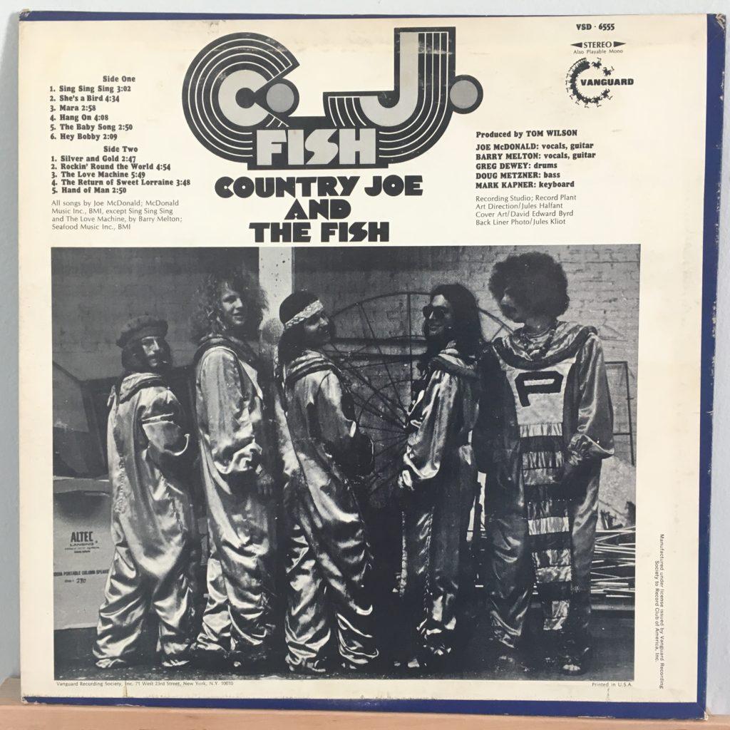 C.J. Fish back cover