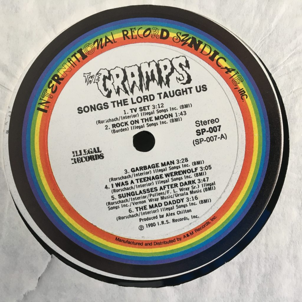I think this is the only rainbow label IRS I have