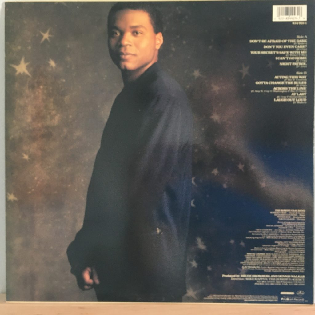 Robert Cray Don't Be Afraid of the Dark back cover