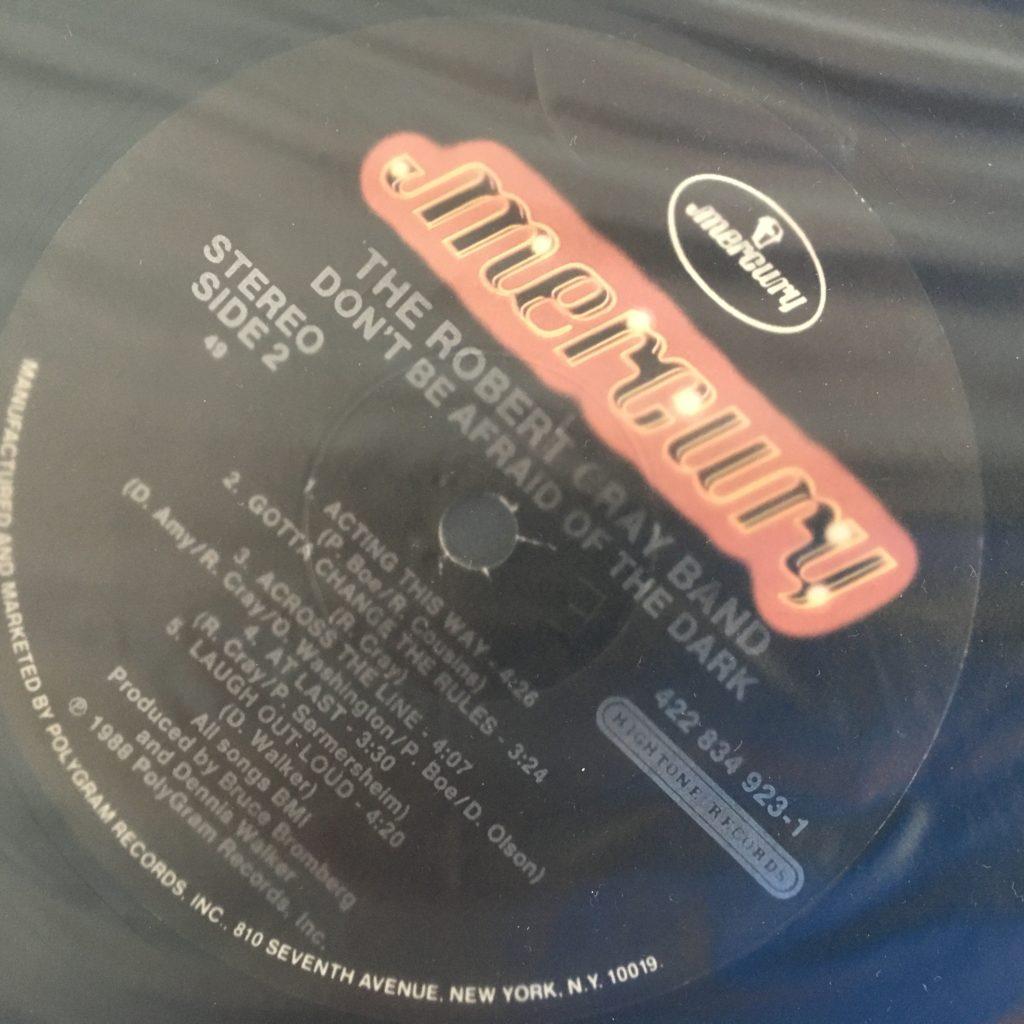 Robert Cray - standard Mercury Hightone label