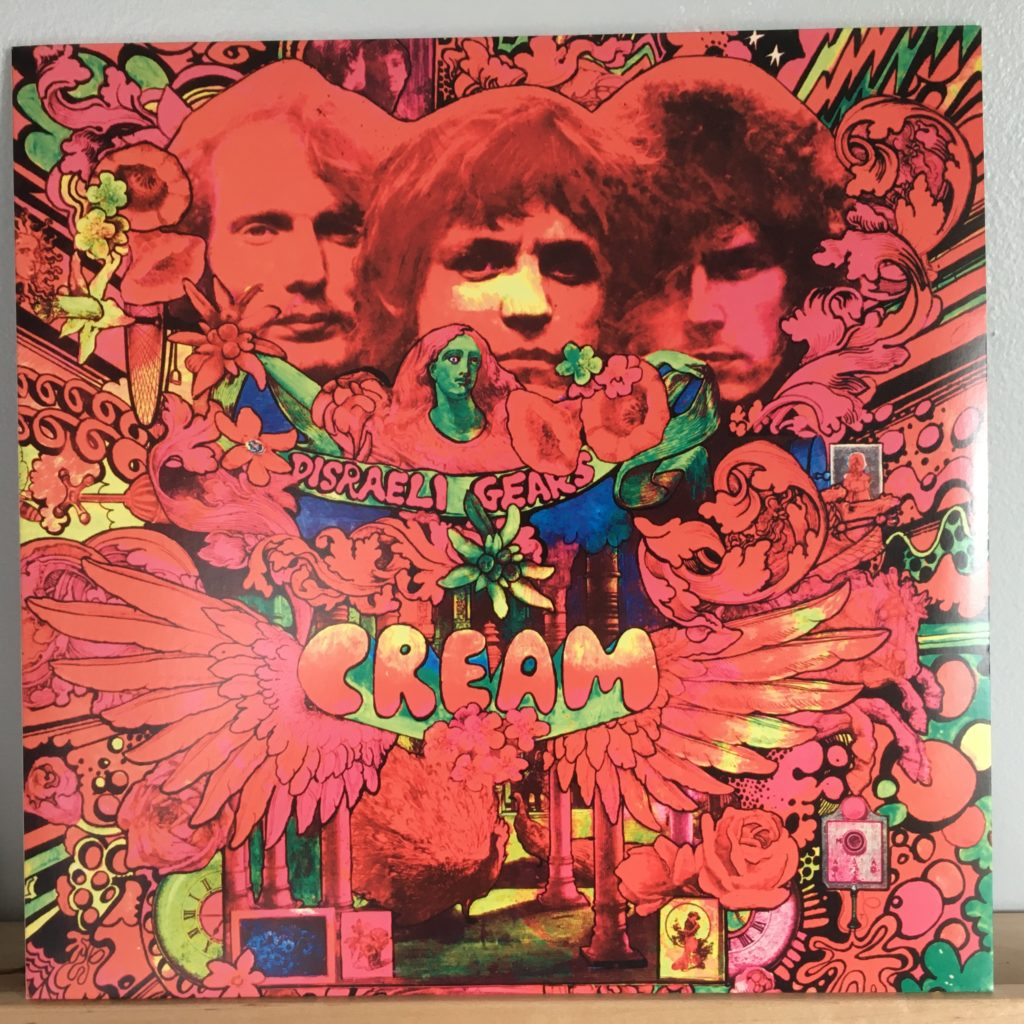 Disraeli Gears front cover