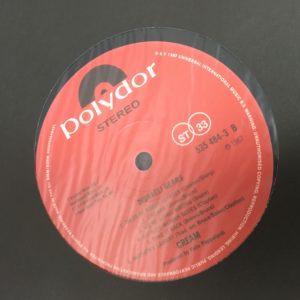 Disraeli Gears 180 gram label