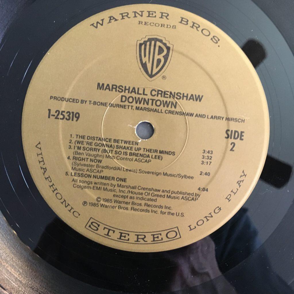 Downtown warranted a semi-retro label
