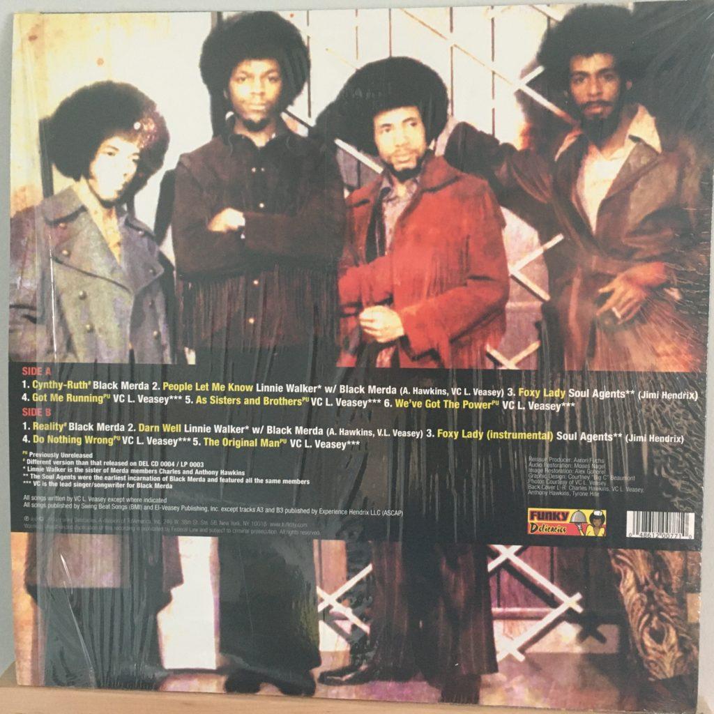 The Psych Funk of Black Merda