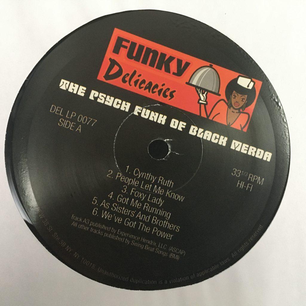 Funky Delicacies label
