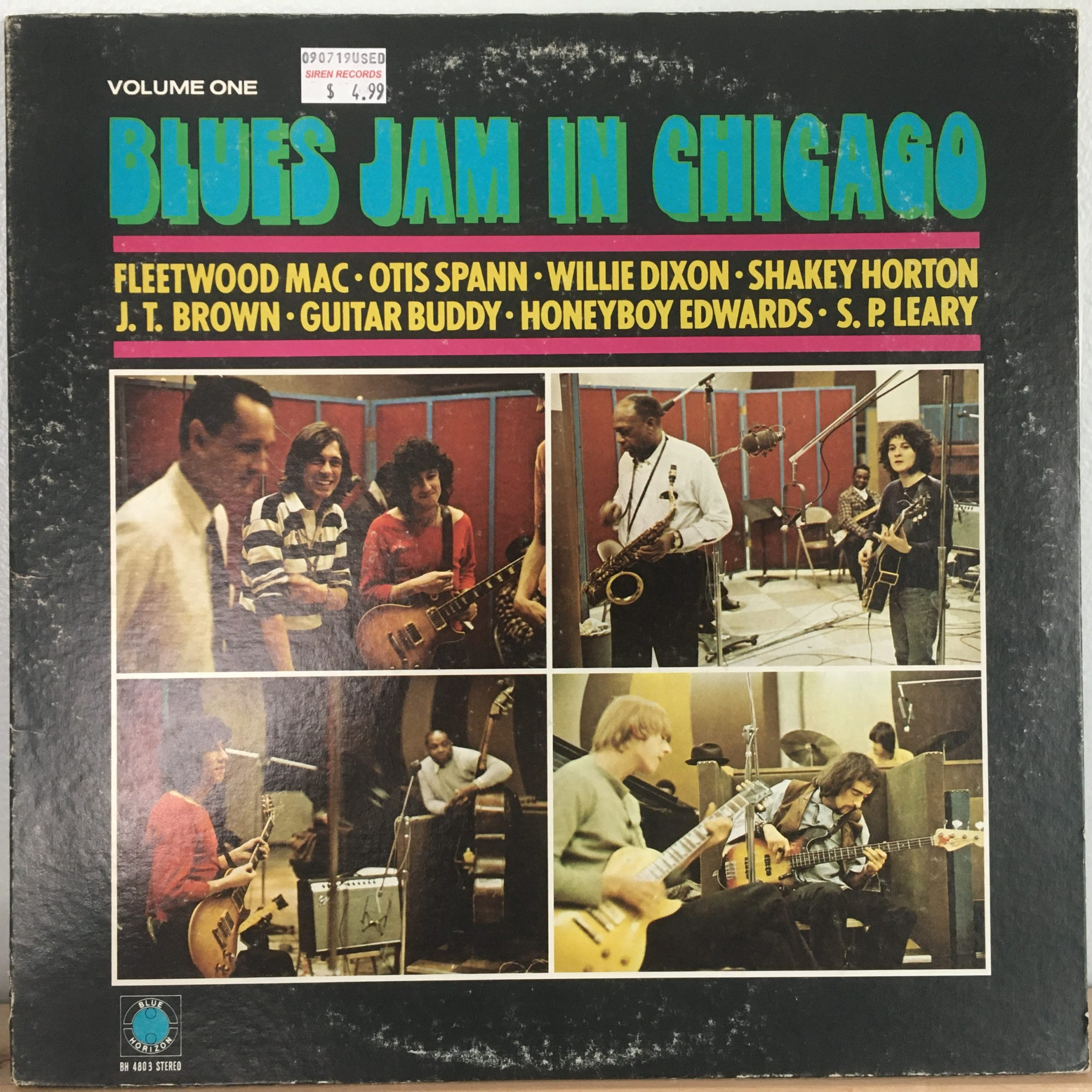 Blues Jam in Chicago front cover