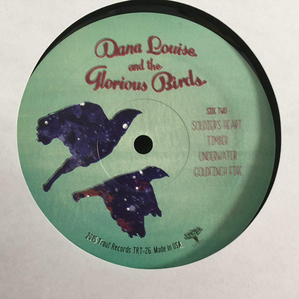 Lovely custom label for Dana Louise