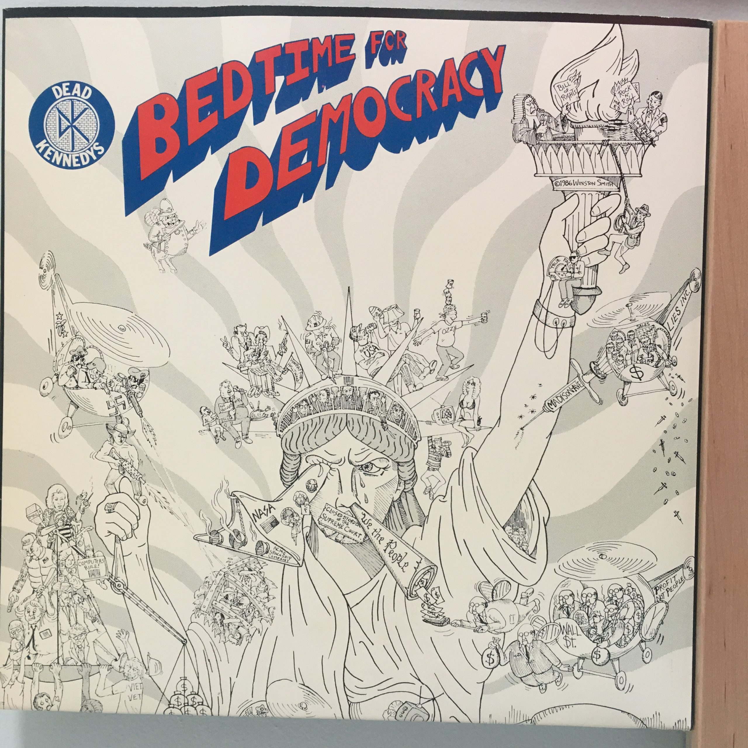 Bedtime for Democracy front cover