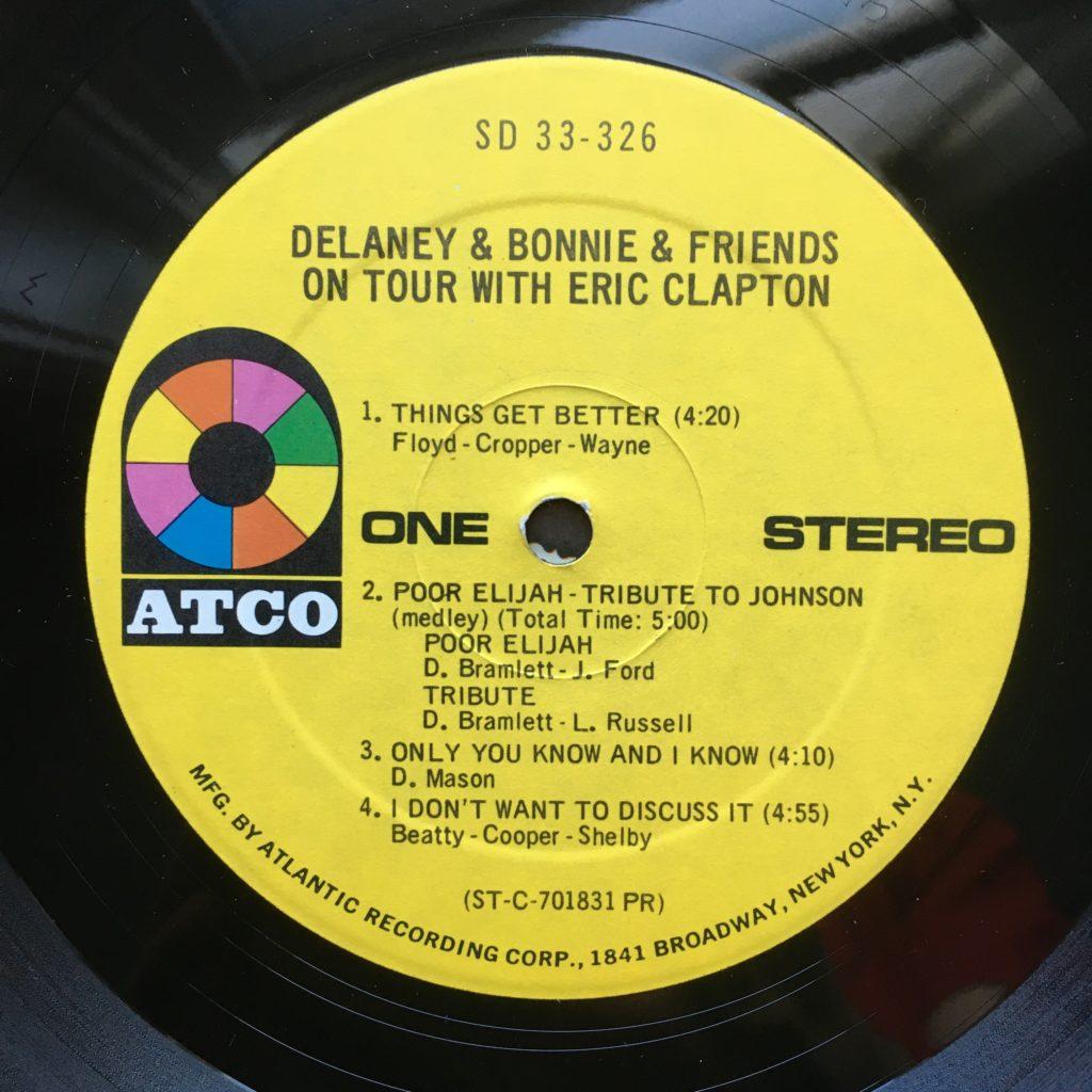 Delaney & Bonnie Atco label