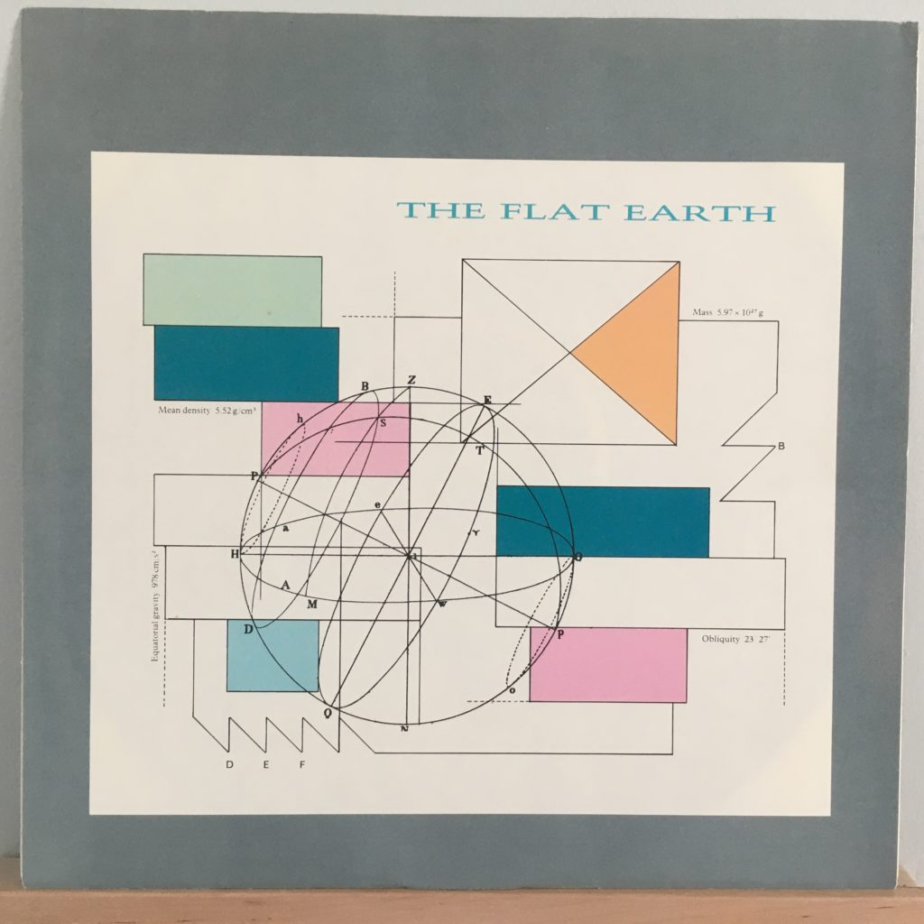 The Flat Earth picture sleeve