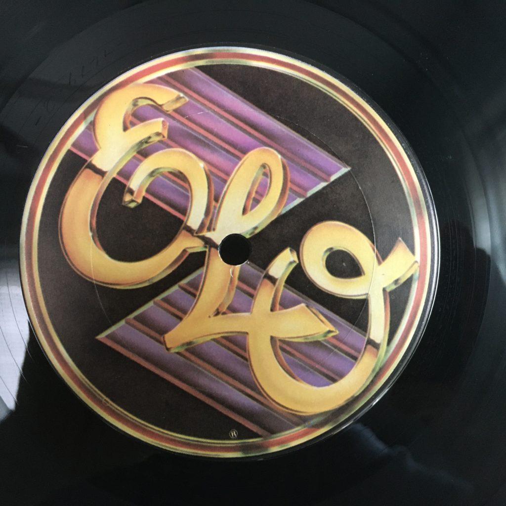 ELO New World Record side 2 custom label