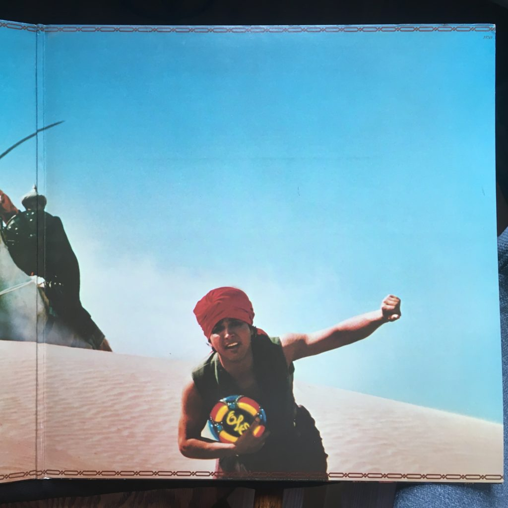 ELO Discovery gatefold right