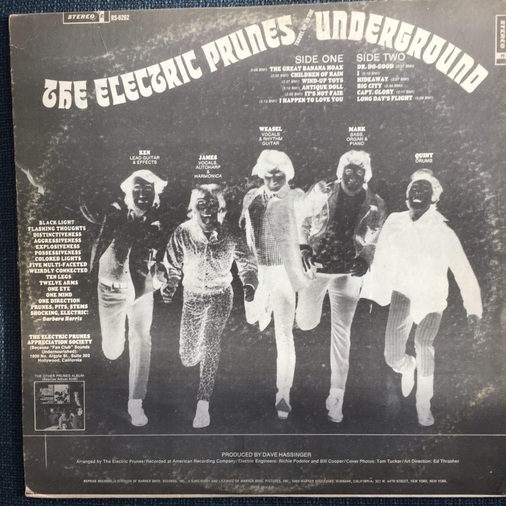 Underground back cover