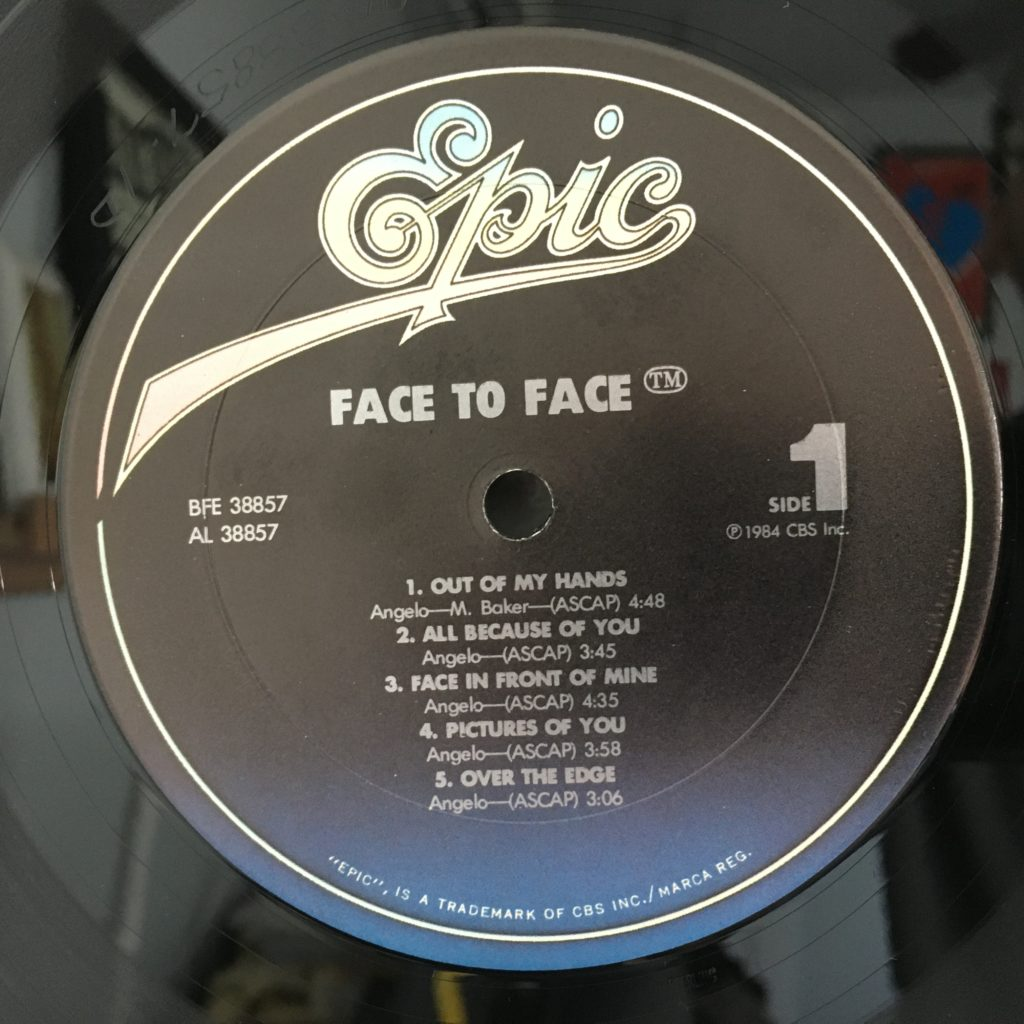 Face to Face Epic label