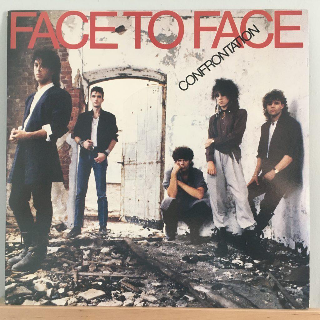 Face to Face Confrontation album cover