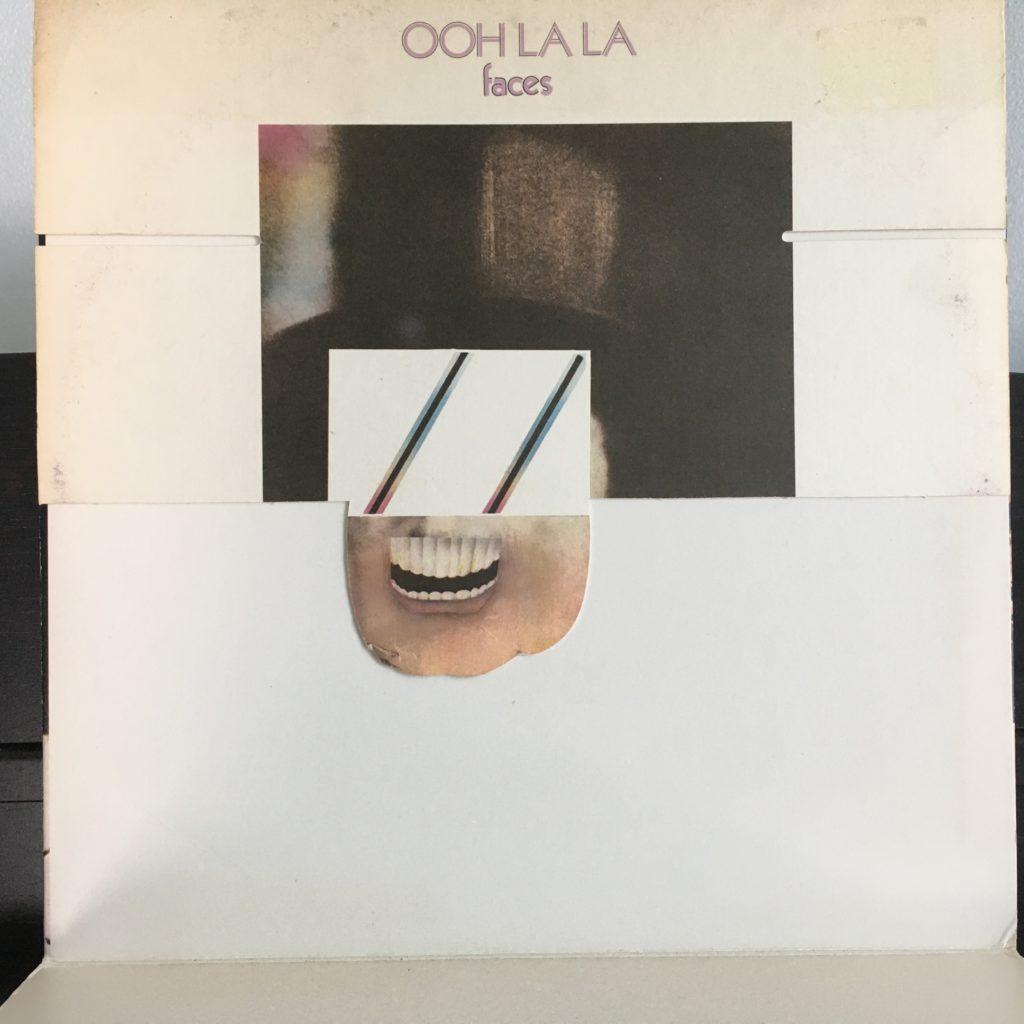 Ooh-La-La front cover opened