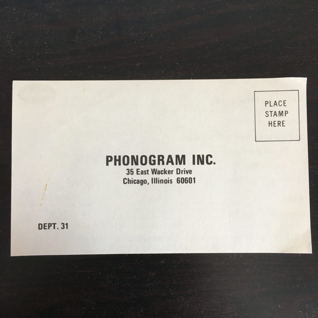 Get on the Phonogram mailing list!