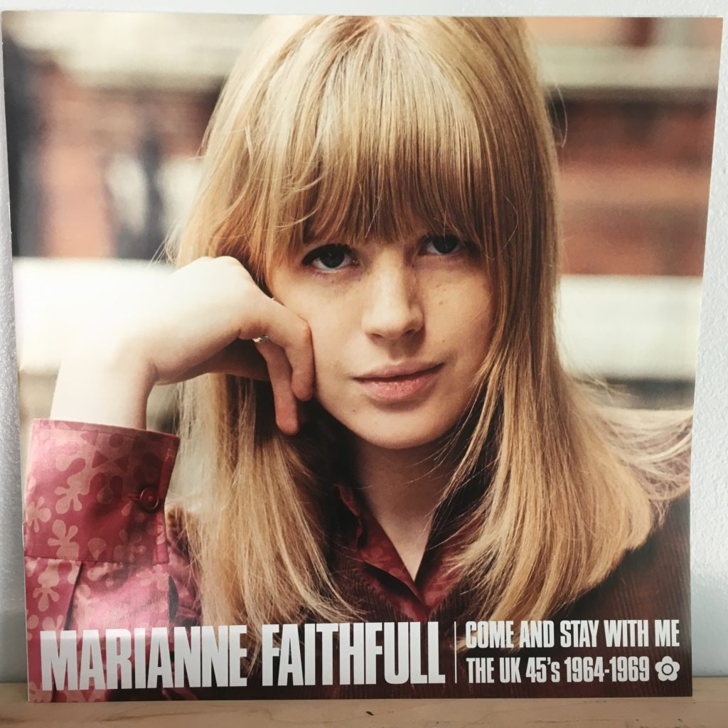 Marianne Faithfull booklet front cover