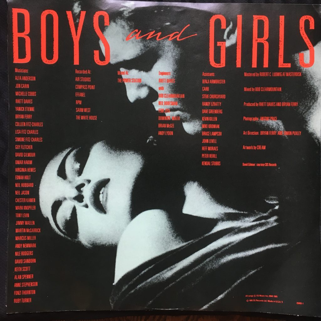 Boys and Girls Picture Sleeve