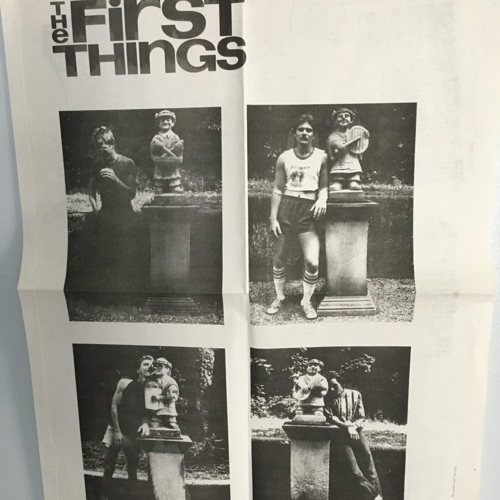 The First Things Poster