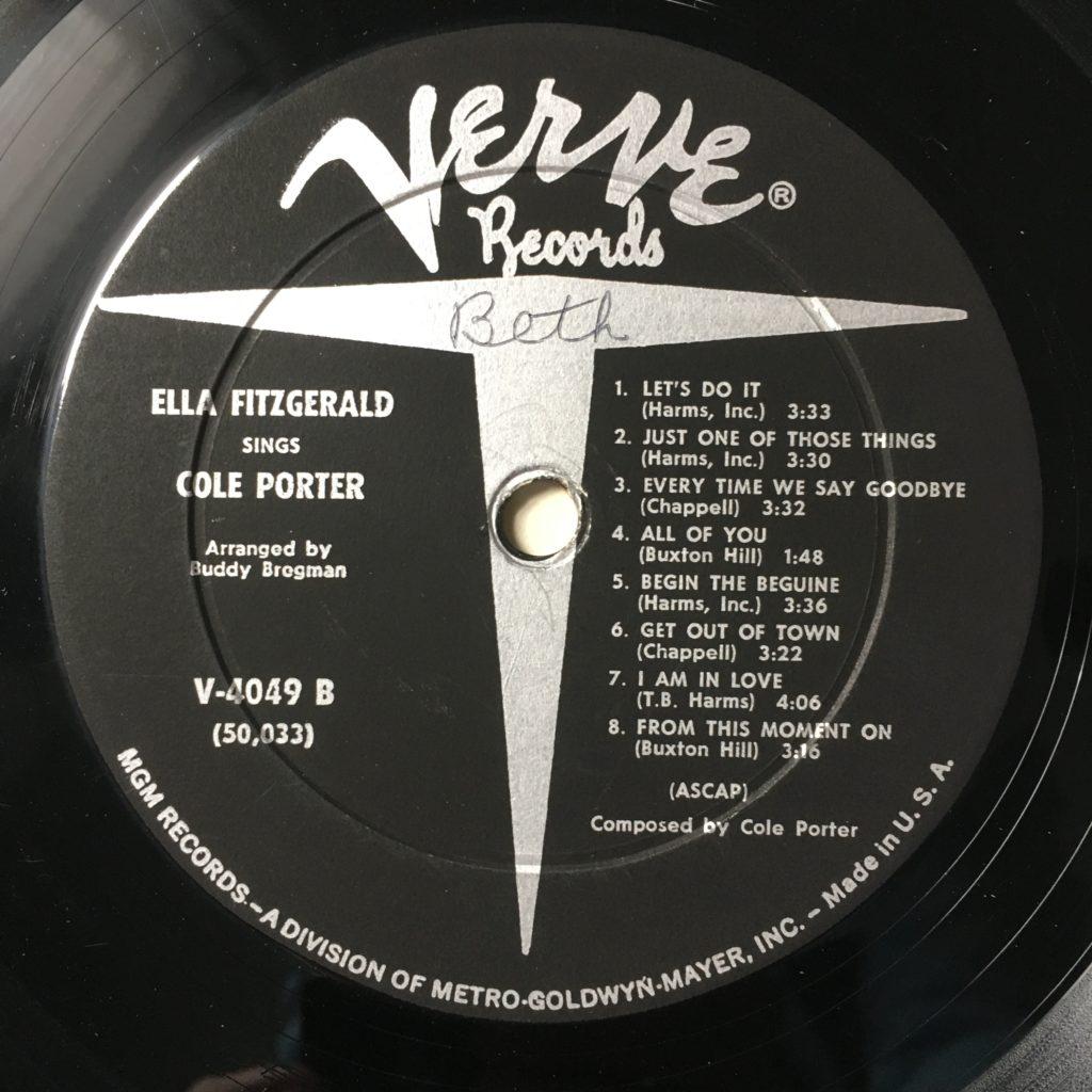 Verve Records Label