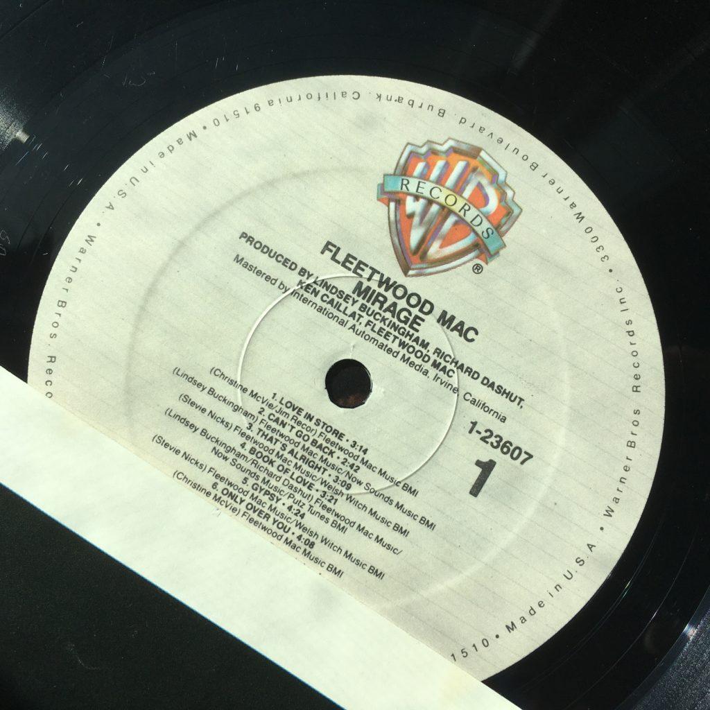 Mirage label