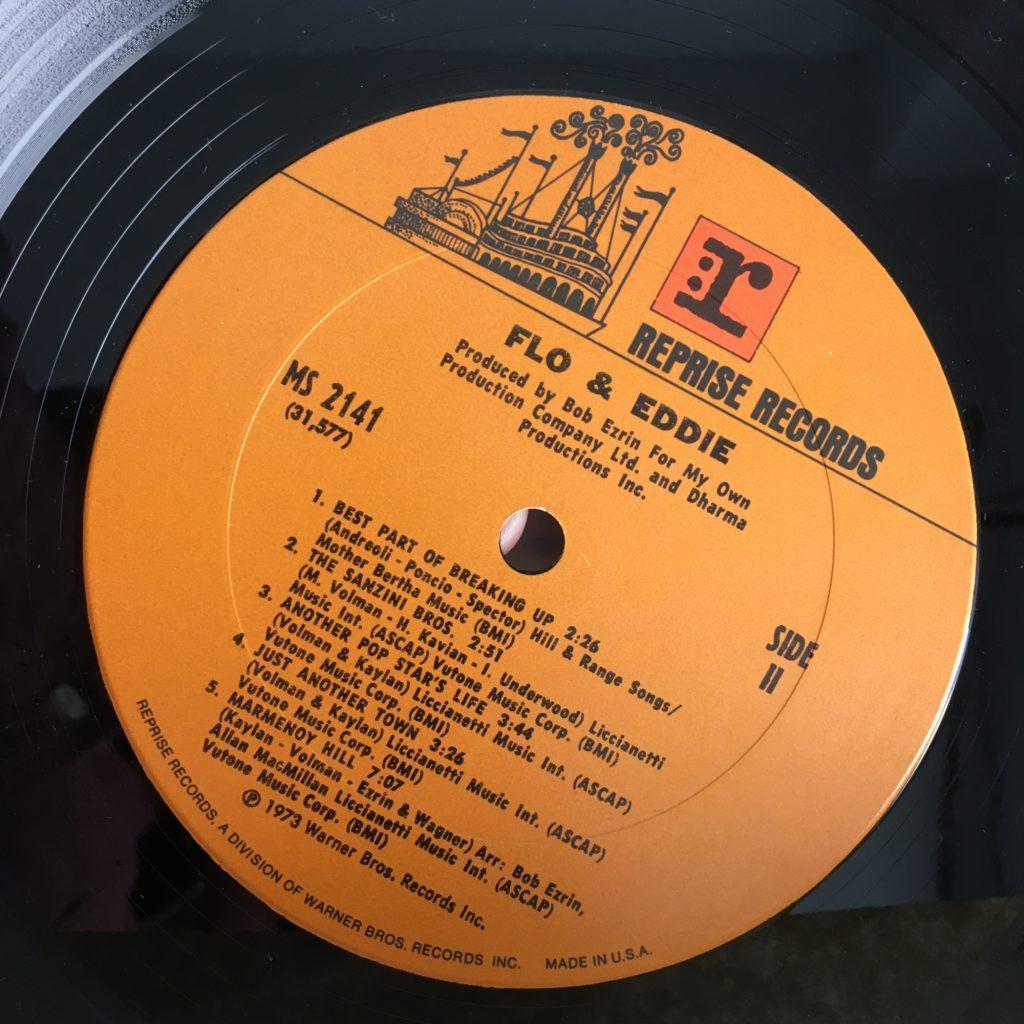 Flo & Eddie Reprise label