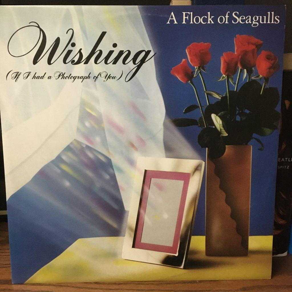 Wishing single cover