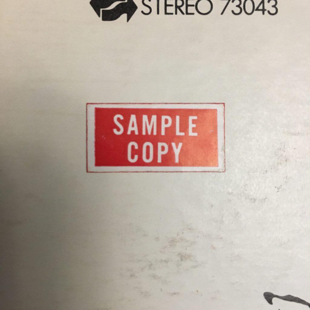 Sample Copy sticker