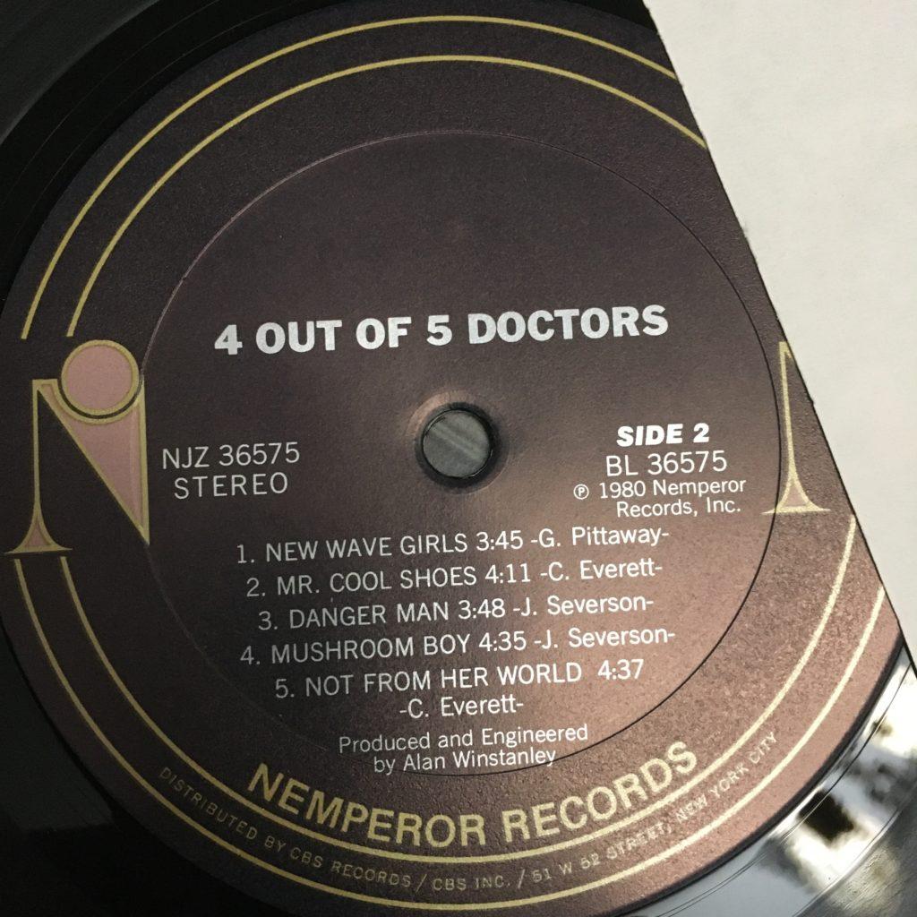 4 Out of 5 Doctors Nemperor label