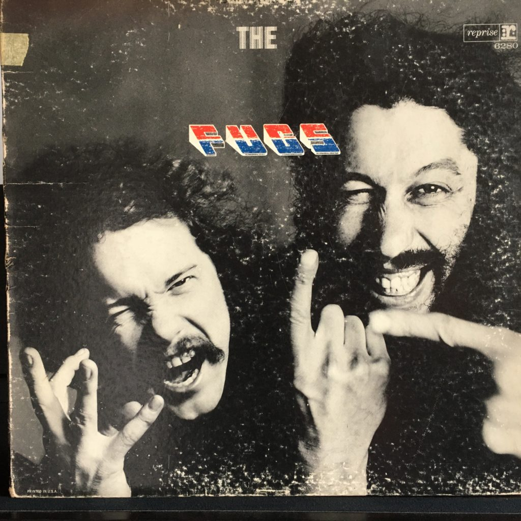 The Fugs Tenderness Junction front cover