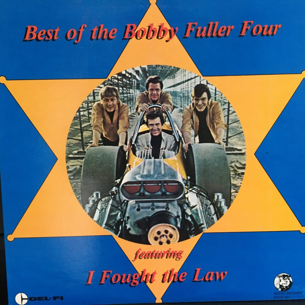 Best of the Bobby Fuller Four front cover