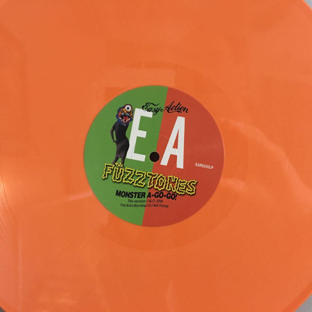 Very colored vinyl!
