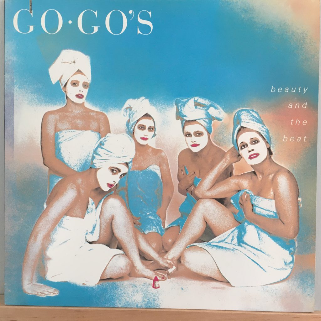 Go-Go's Beauty and the Beat front cover